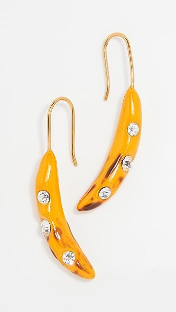 Marni Banana Earrings