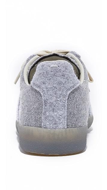 Maison Margiela Felt Sneakers