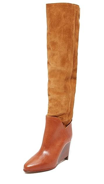Maison Margiela Leather & Suede Boots