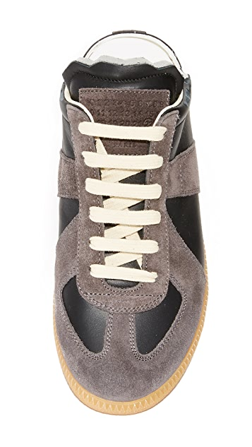 Maison Margiela Laceup Sneakers