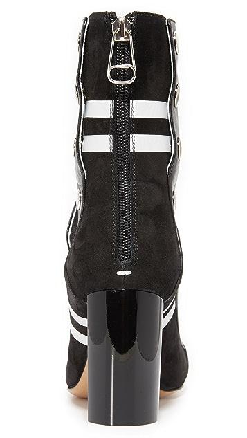 Maison Margiela Cutout Heel Ankle Boots