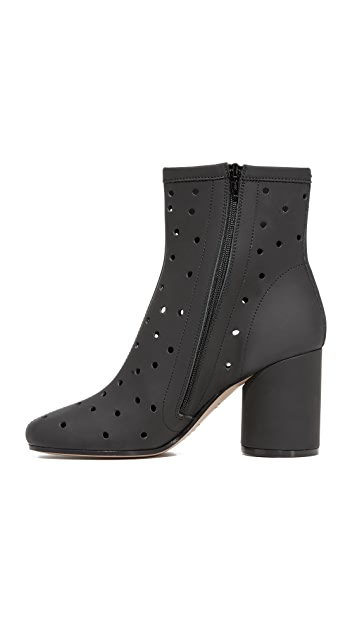 Maison Margiela Perforated Ankle Booties