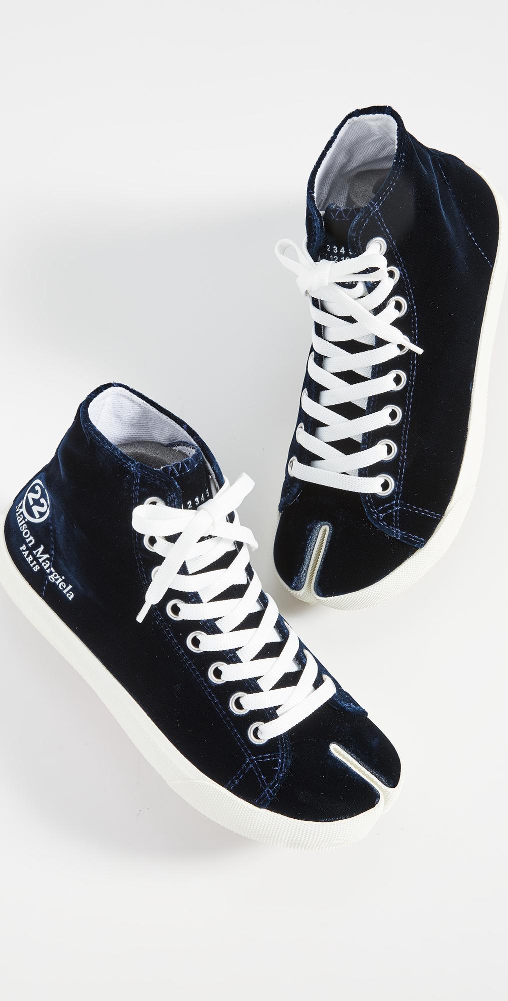 tabi high top sneakers