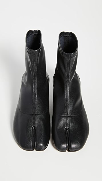 Maison Margiela Tabi Faux Leather Sock Booties