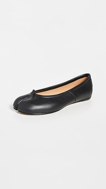 Maison Margiela Faux Leather Tabi Flats vKP0Y1hn