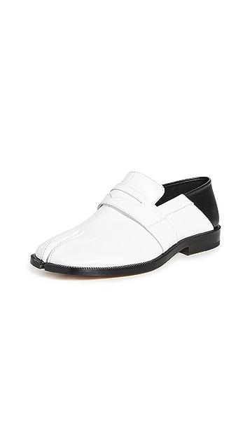 Maison Margiela Tabi 便士浅口船鞋