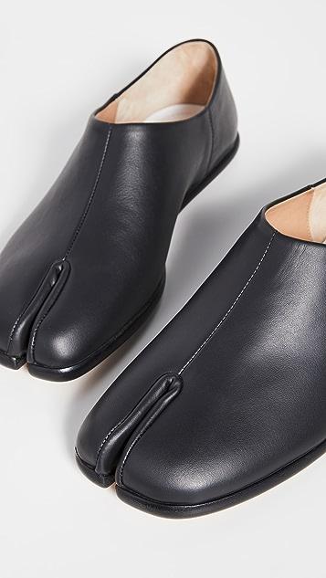 Maison Margiela Tabi 实穿平底穆勒鞋