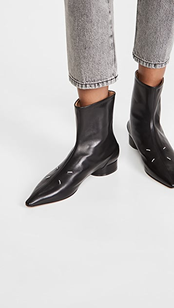 Maison Margiela Four Stitch Soft Touch Ankle Boots