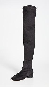 Maison Margiela Thigh High Tabi Boots