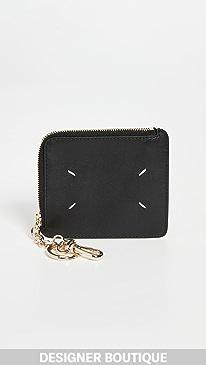 메종 마르지엘라 Maison Margiela Keychain Wallet,Black