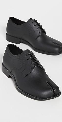 Maison Margiela - Bio-Degradable Rubber Tabi Lace Up Shoes