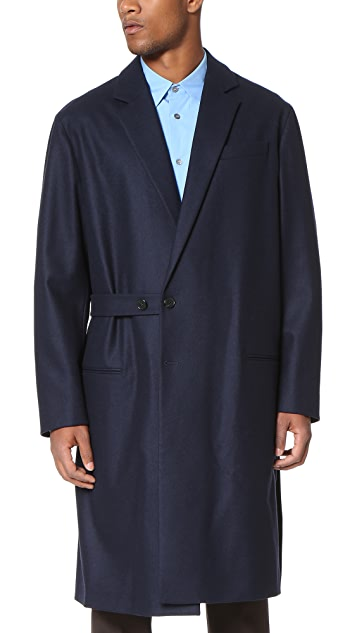 Marni Wool Felt Wrap Coat