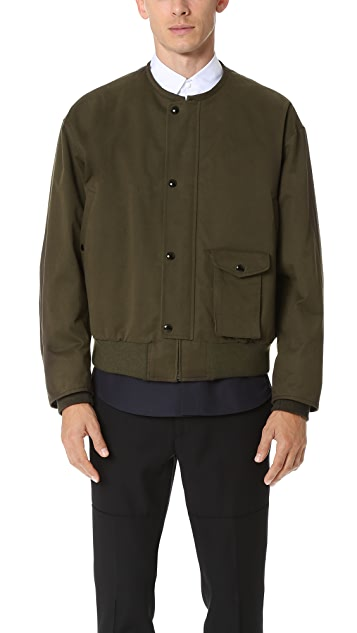 Marni Sanded Twill Bomber