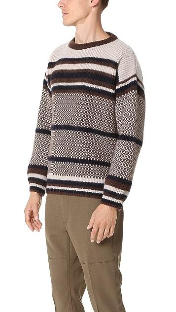 Marni Striped Jacquard Sweater