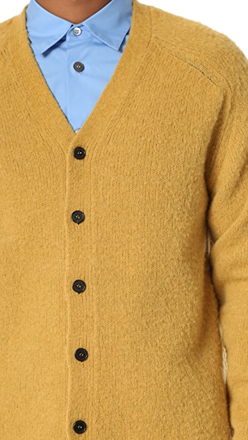 Marni Brushed Alpaca Cardigan