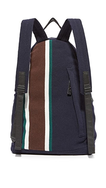 Marni Stripe Wool Backpack