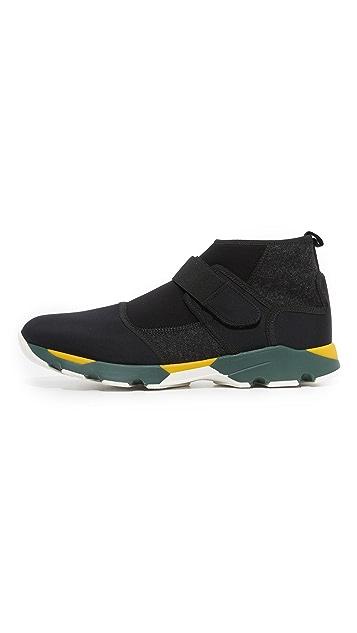 Marni Neoprene Pull On Sneakers