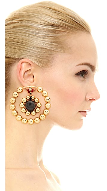 Marni Earrings with Resin