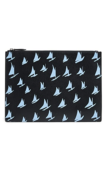 Marni Boat Print Document Holder