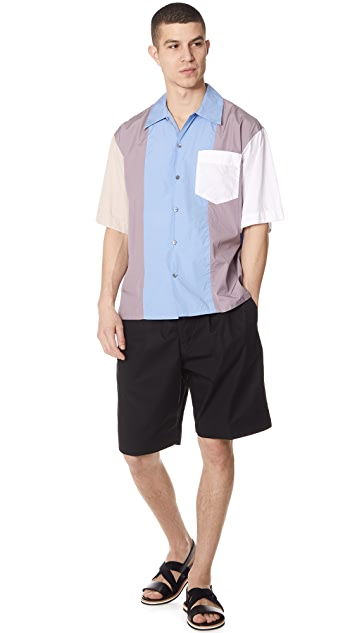 Marni Elastic Waist Shorts