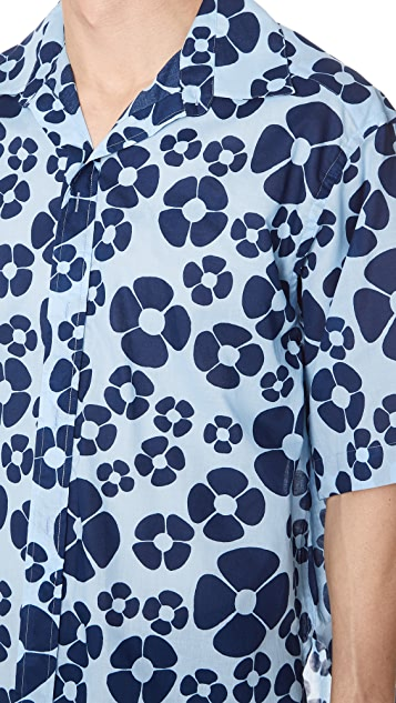 Marni Short Sleeve Sport Shirt