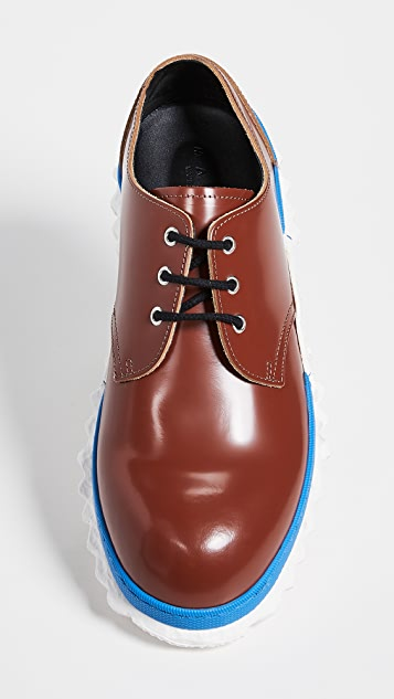 Marni Exaggerated Sole Lace Ups