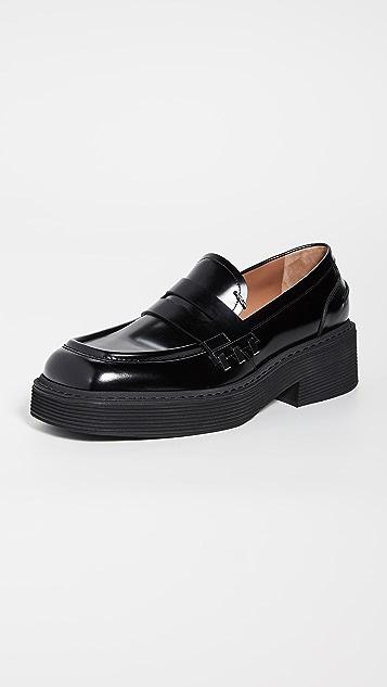Marni Pierced Loafers
