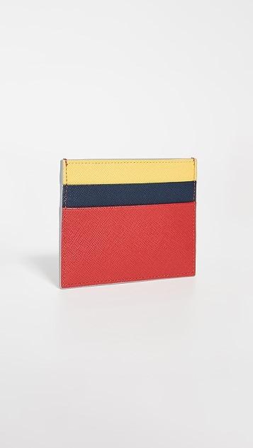 Marni Colorblock Card Case