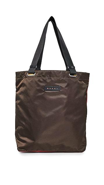 Marni Nylon Tote Bag