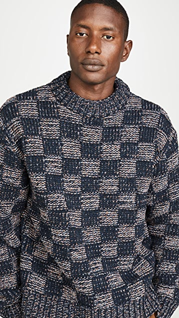 Marni Multi Check Sweater