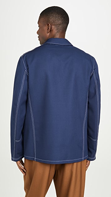 Marni Wool Gabardine Work Jacket