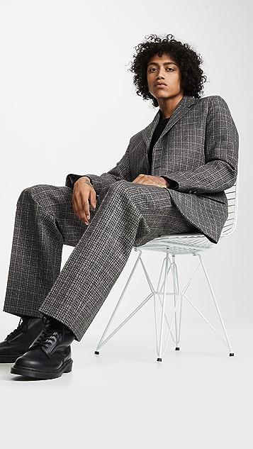 Marni Mirco Check Dry Wool Blazer
