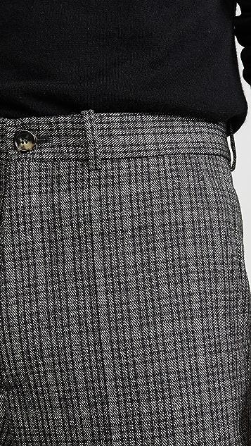 Marni Mirco Check Dry Wool Pants