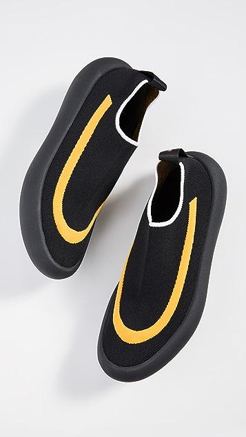 Marni Banana Leaf Slip On Sneakers
