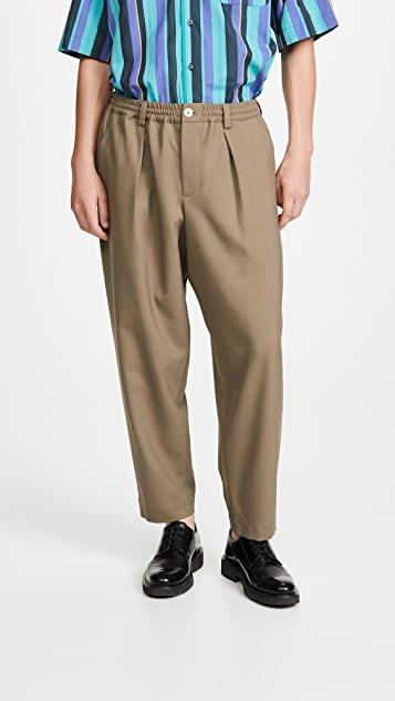 Marni Tropical Wool Pants
