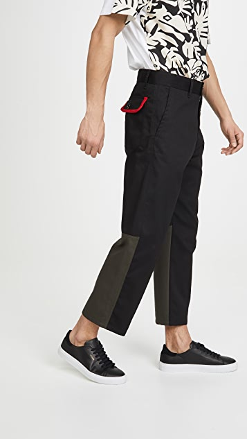 Marni Workwear Gabardine + Light Corduroy Pants