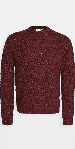 Marni - Chunky Knit Crew Neck Sweater