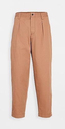 Marni - Gabardine Elastic Waist Trousers