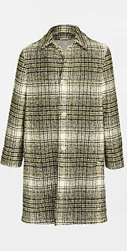 Marni - Tweed Check Oversized Coat