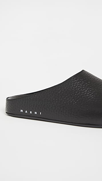 Marni Sabot Slides