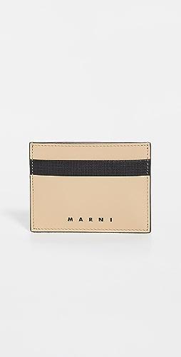 Marni - Leather Card Case