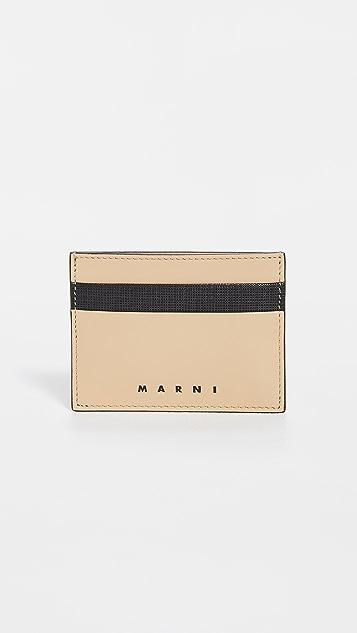 Marni Leather Card Case
