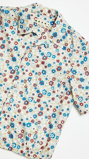 Marni Flower Shirt