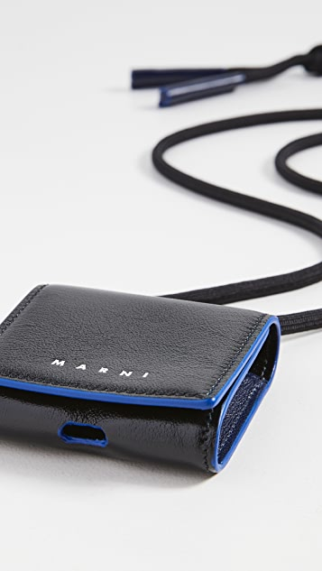 Marni Leather Airpods Holder
