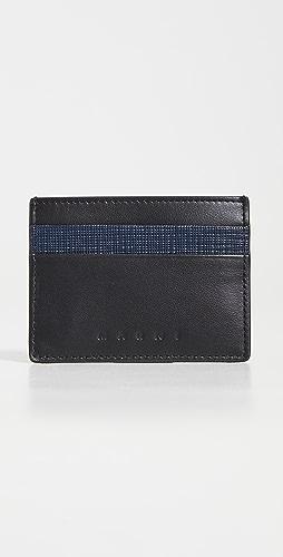 Marni - Leather Credit Card Holder