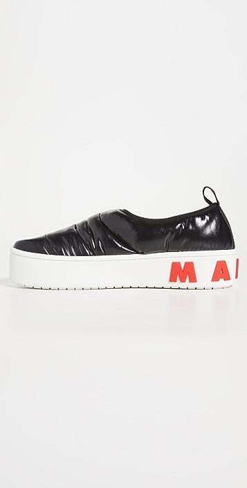 Marni Puff Sneakers