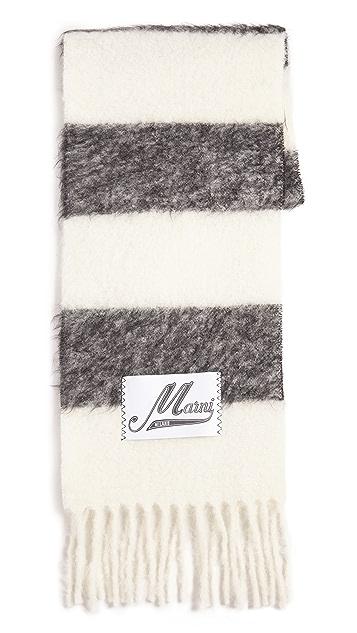 Marni Striped Scarf
