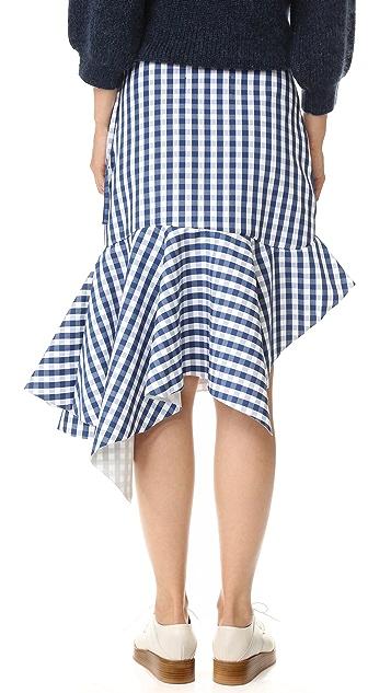 Marques Almeida Gingham Skirt