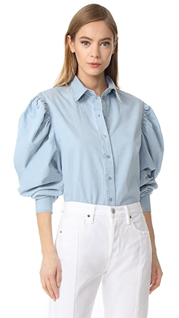 Marques Almeida Puff Sleeve Shirt