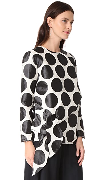 Marques Almeida Big Circle Top